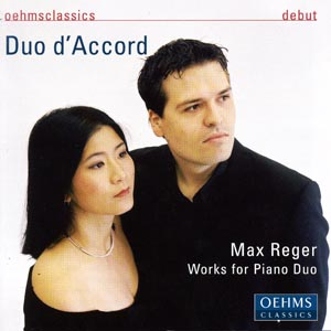 MAX REGER: WORKS FOR PIANO DUO