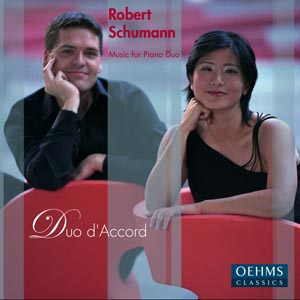 ROBERT SCHUMANN: MUSIC FOR PIANO DUO